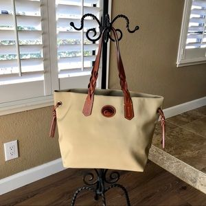 New Dooney & Bourke Nylon Shopper Tote
